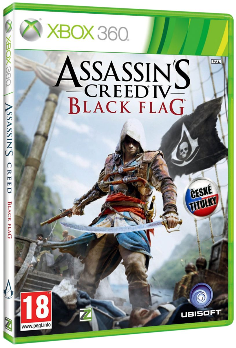 ASSASSINS CREED IV: BLACK FLAG CZ - X360