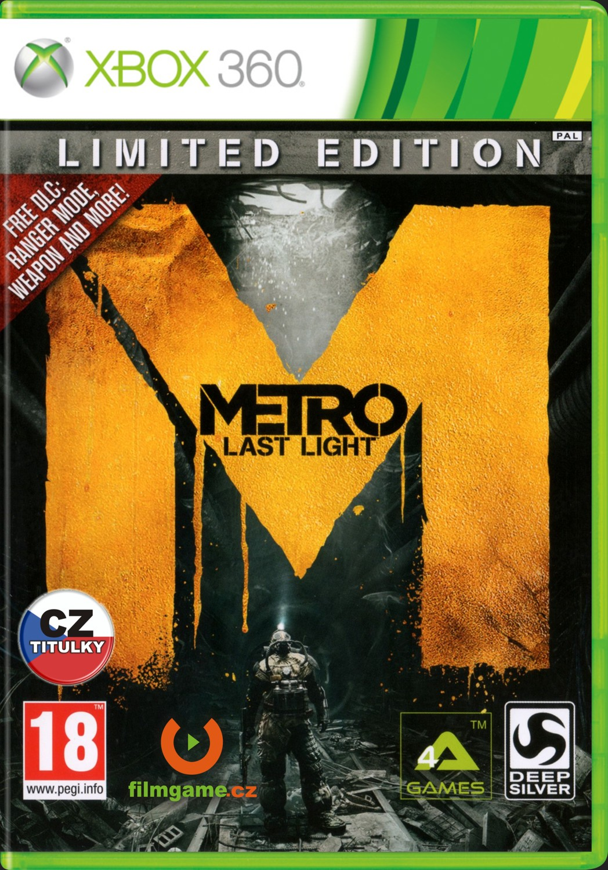 METRO: LAST LIGHT CZ - LIMITED EDITION - X360