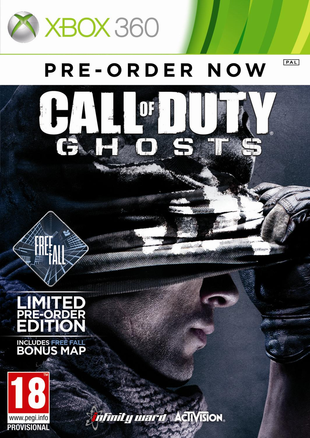 CALL OF DUTY: GHOSTS Limited Edition - X360