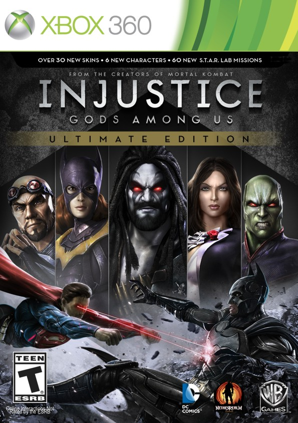 INJUSTICE: GODS AMONG US ULTIMATE EDITION - X360