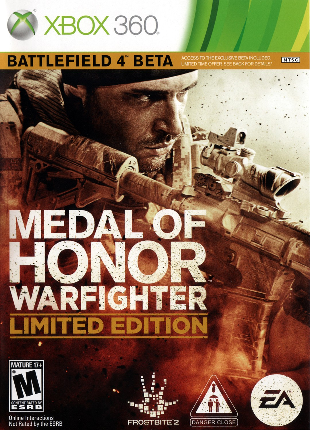 MEDAL OF HONOR: WARFIGHTER LIMITED EDITION - X360