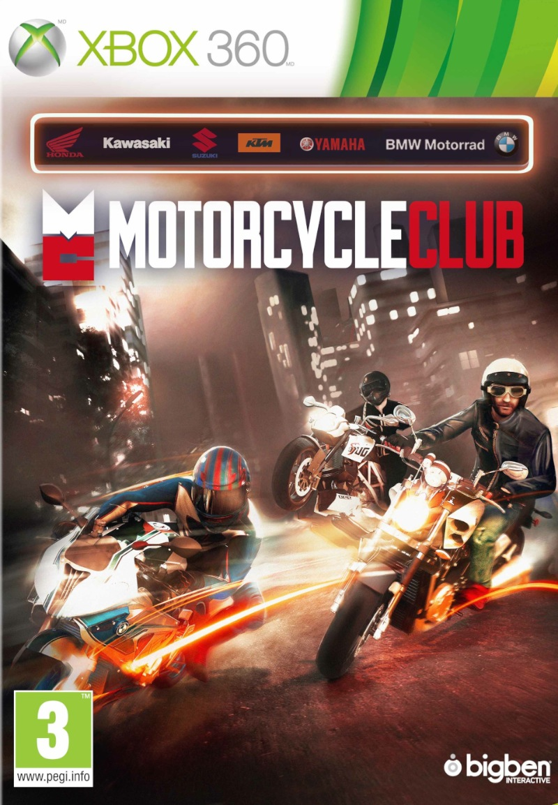 MOTORCYCLE CLUB - X360