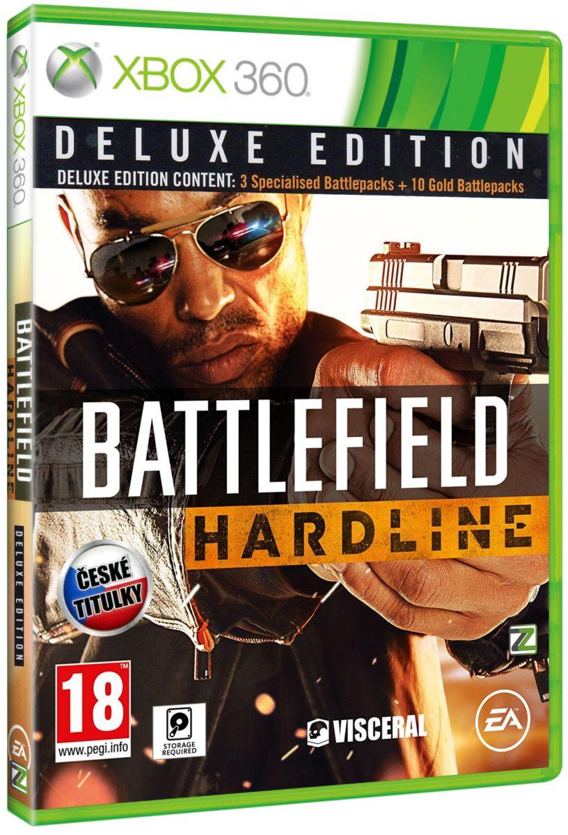 BATTLEFIELD HARDLINE DELUXE EDITION CZ - X360