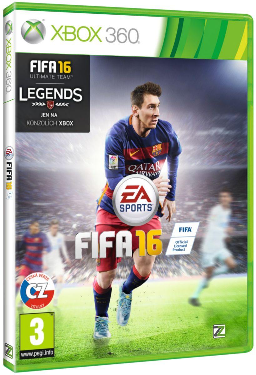 FIFA 16 CZ - X360