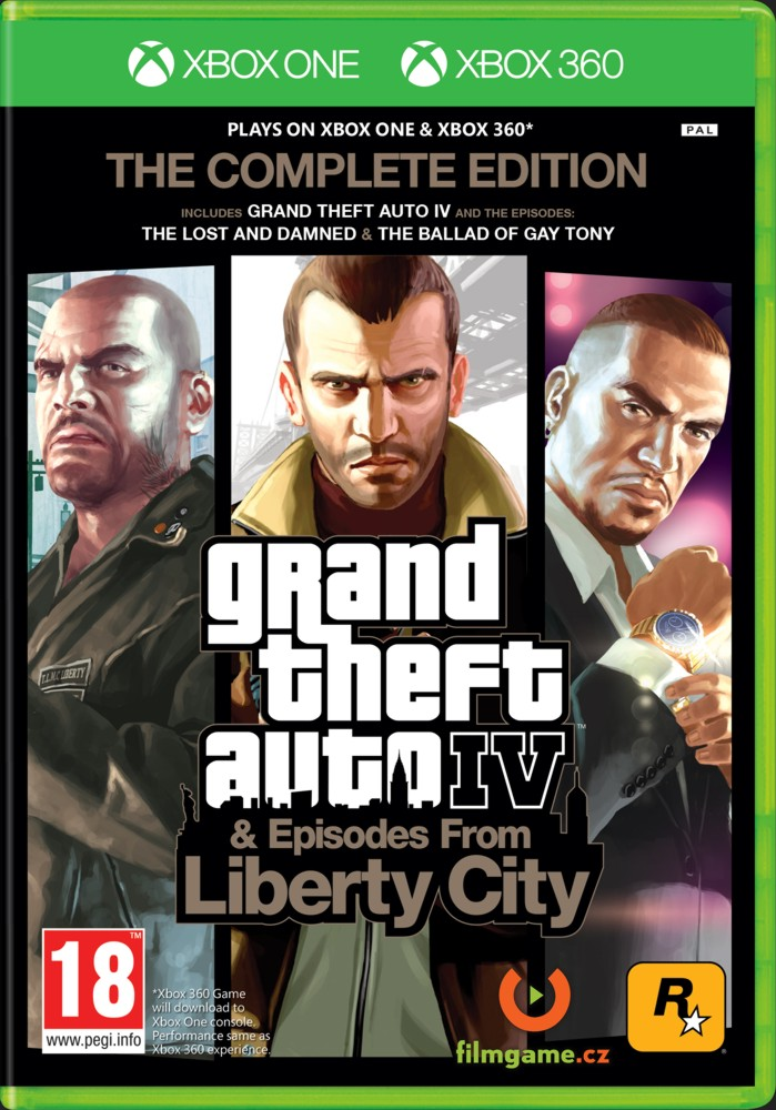 GRAND THEFT AUTO IV (GTA 4) Complete Edition - Xone/X360