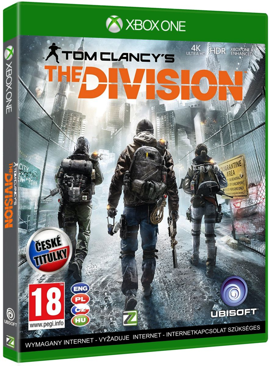 TOM CLANCYS THE DIVISION CZ - Xone