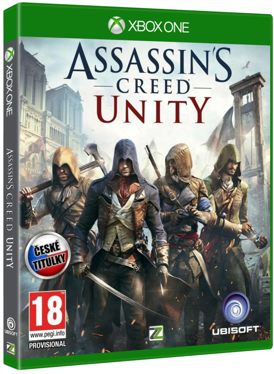 ASSASSINS CREED UNITY CZ - Xone