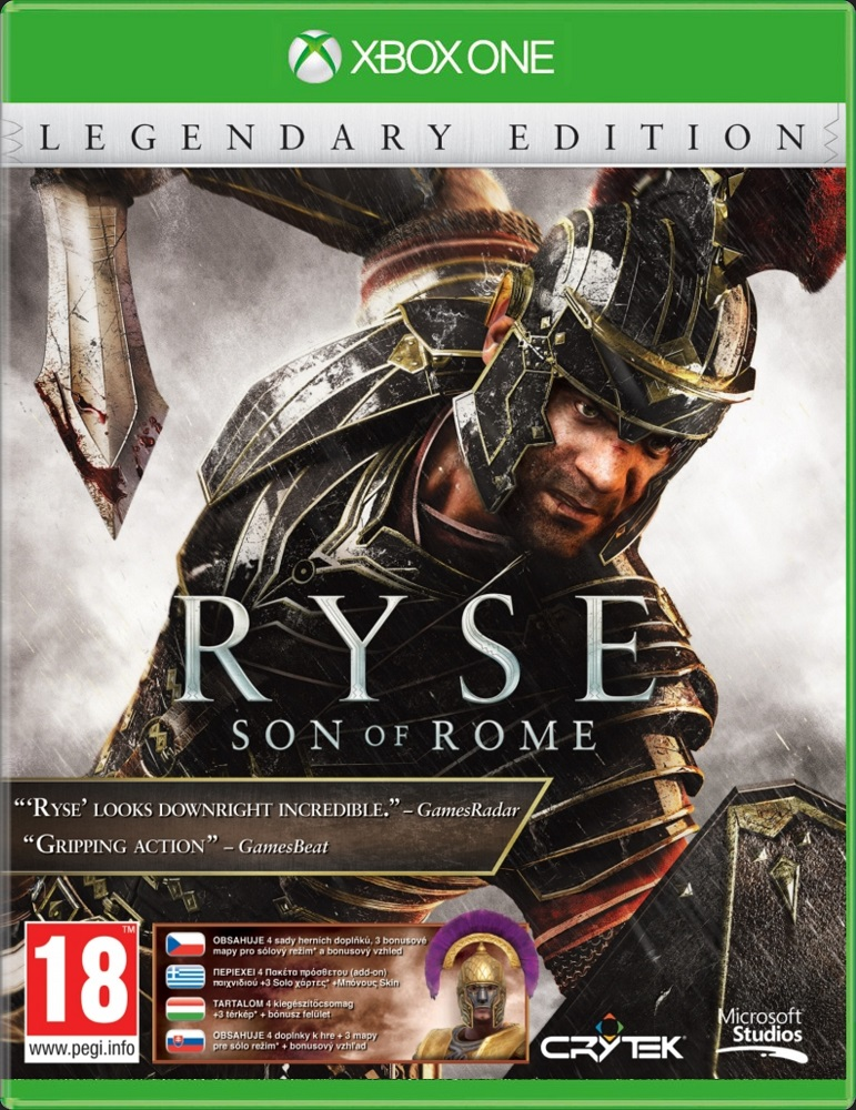 RYSE: Son of Rome (Legendary Edition) - Xone