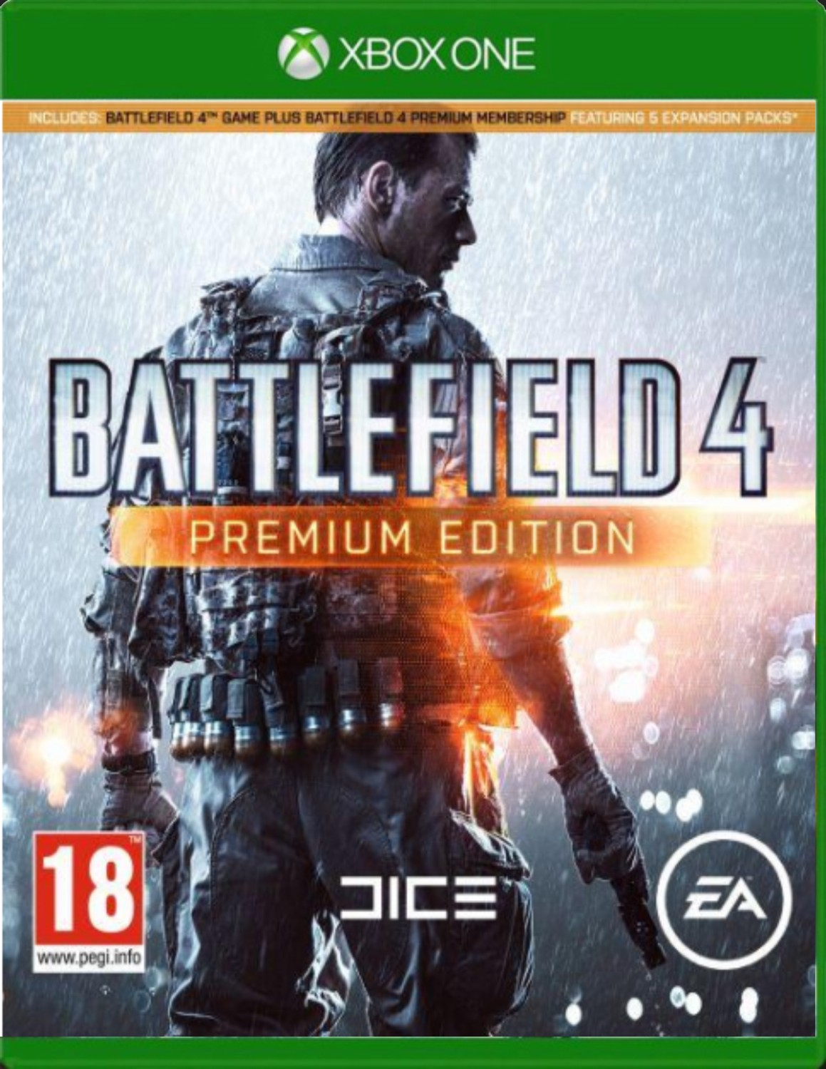 BATTLEFIELD 4 PREMIUM EDITION BUNDLE - Xone