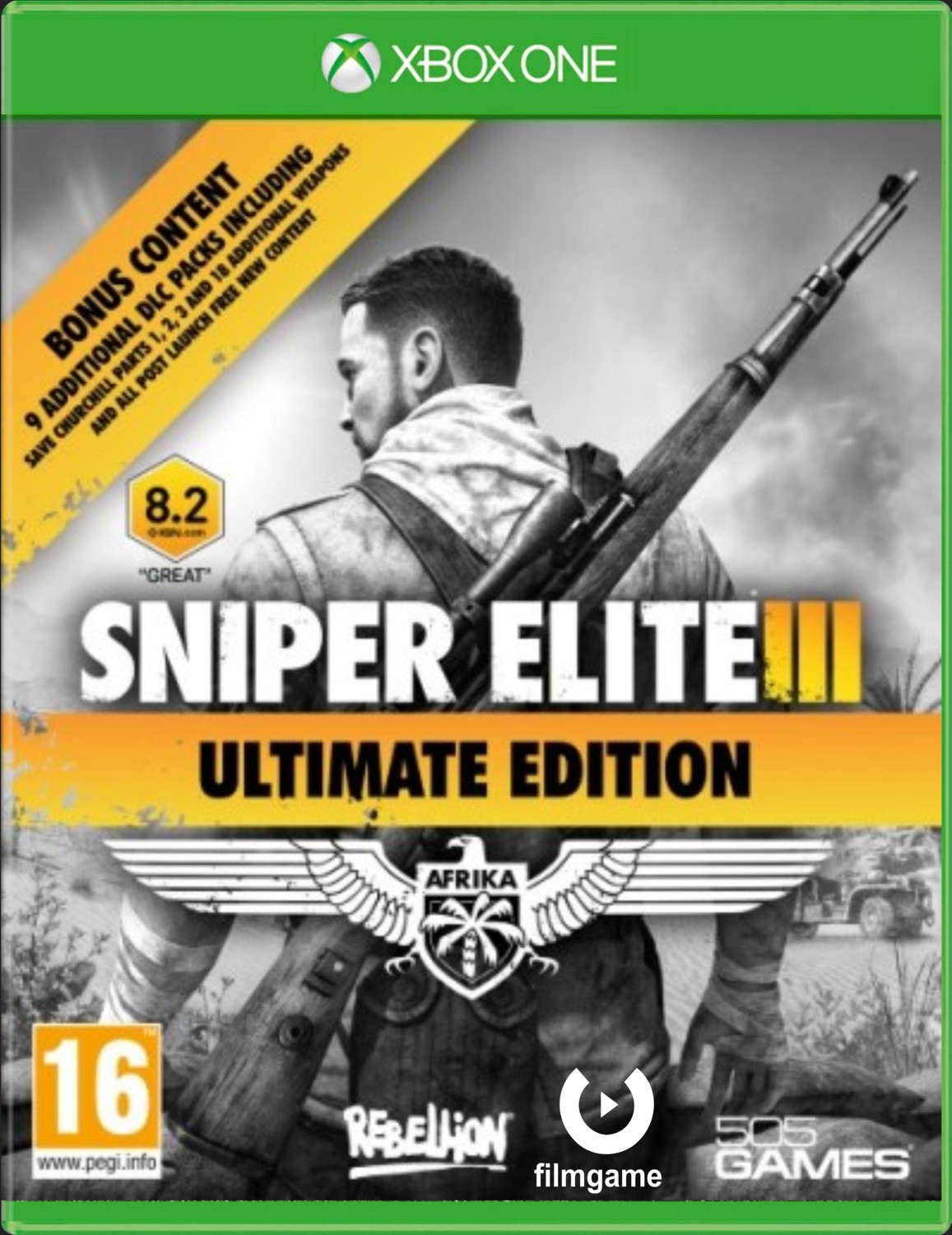 SNIPER ELITE 3 ULTIMATE EDITION - Xone