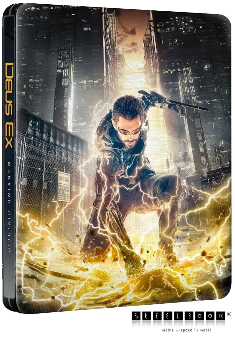 DEUS EX: MANKIND DIVIDED D1 Steelbook Edition - Xone