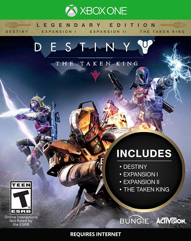 DESTINY: THE TAKEN KING (Legendary Edition) - Xone