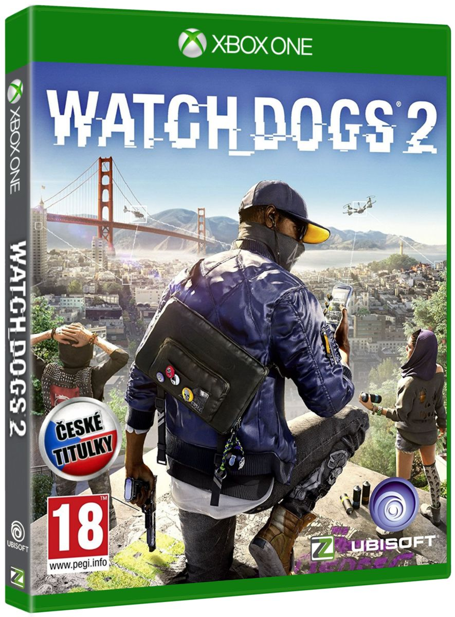 WATCH DOGS 2 CZ - Xone