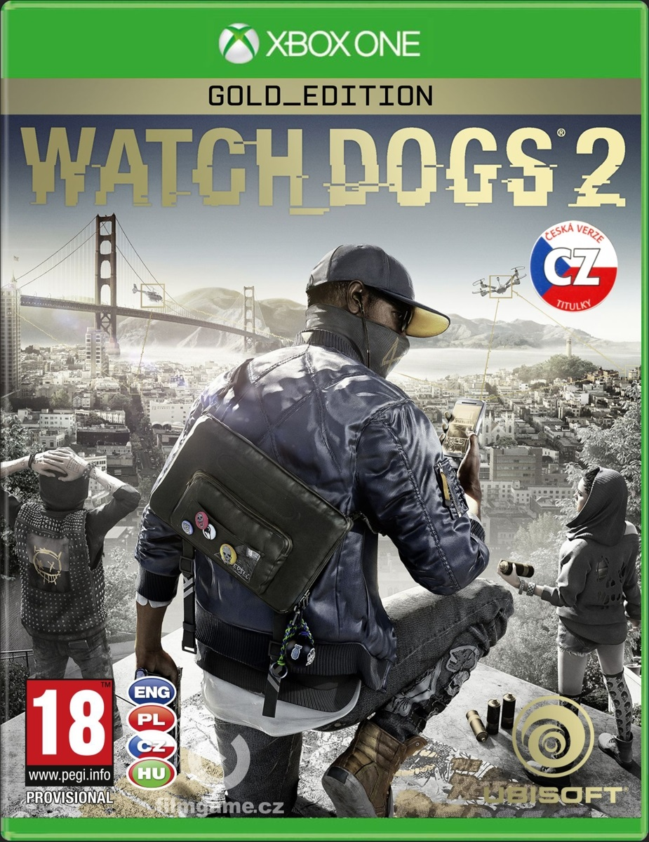 WATCH DOGS 2 GOLD EDITION CZ - Xone