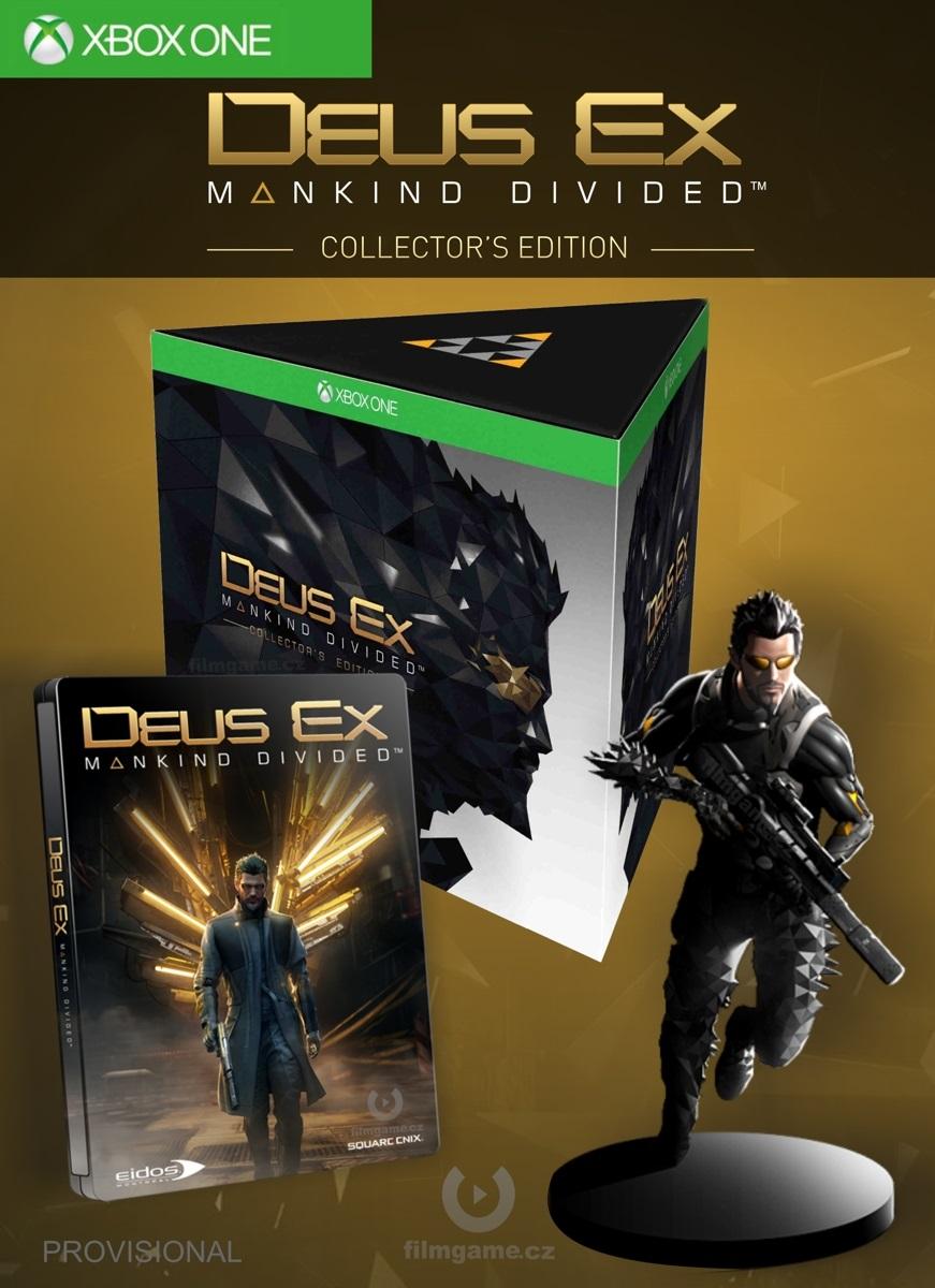 DEUS EX: MANKIND DIVIDED COLLECTORS EDITION - Xone