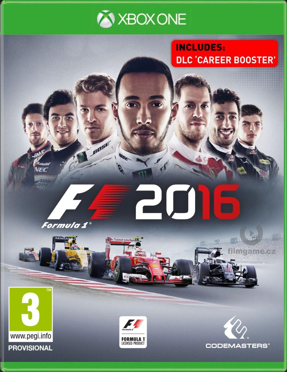 F1 2016 + DLC Career Booster - Xone