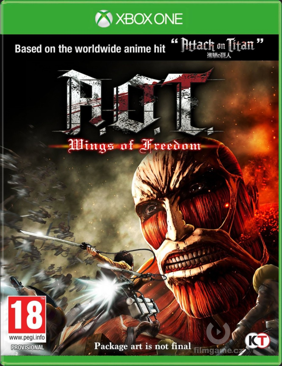 ATTACK ON TITAN: WINGS OF FREEDOM - Xone