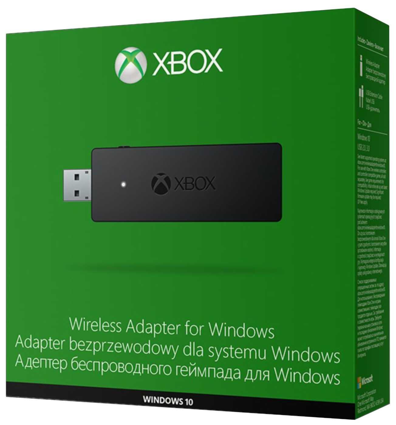 XBOX ONE - Bezdrátový adaptér pro připojení Xbox ONE ovladače k zařízení s Windo