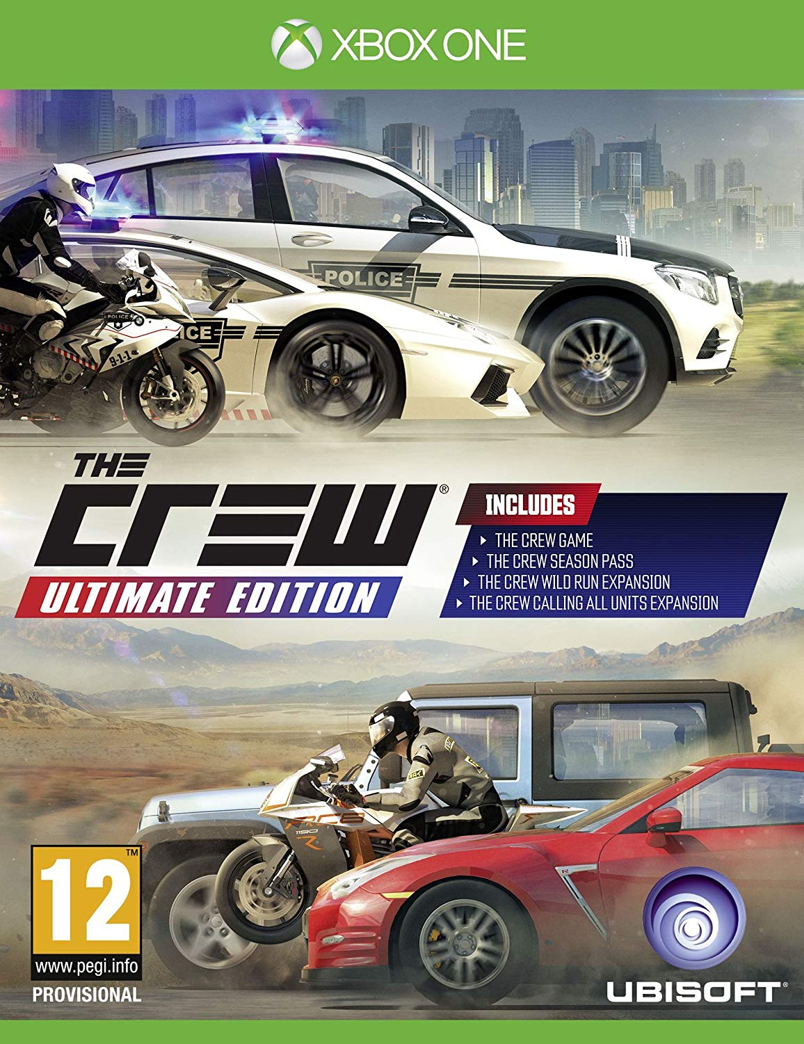 THE CREW ULTIMATE EDITION - Xone