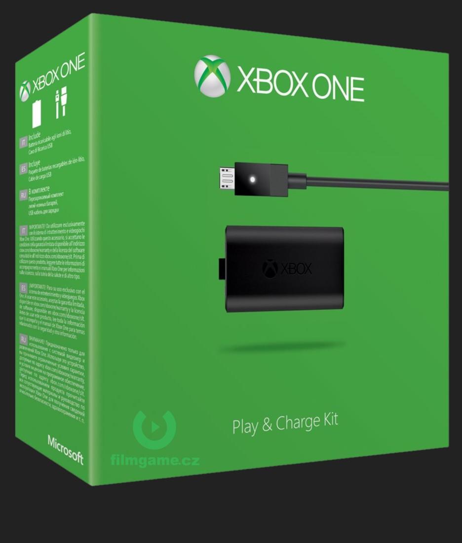 Nabíjecí souprava pro ovladač Xbox ONE