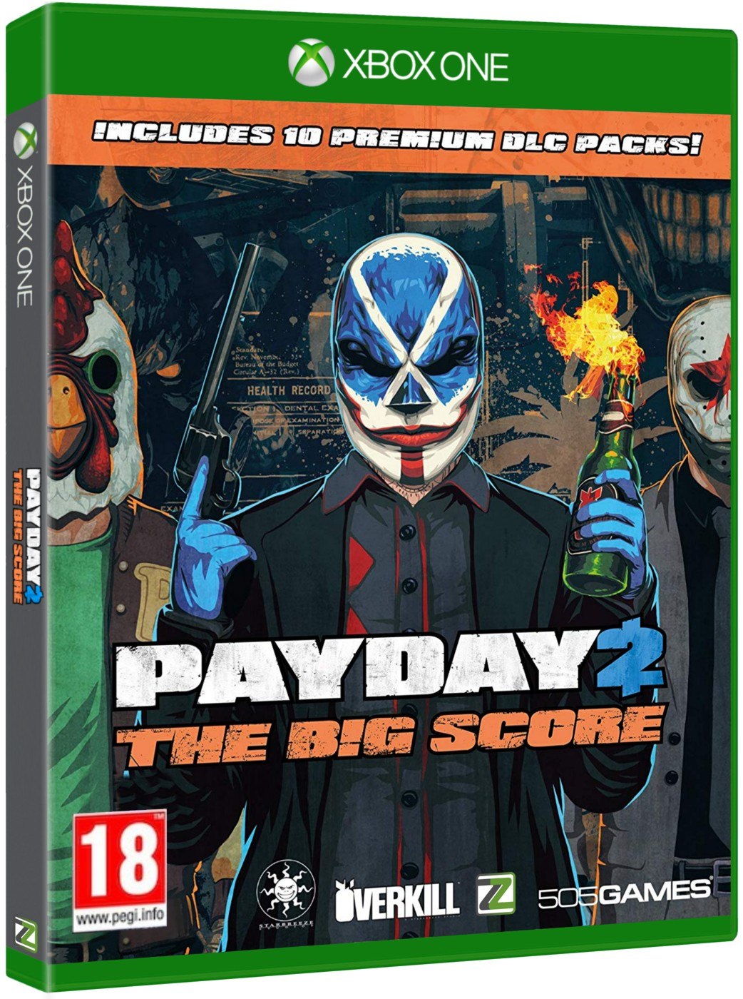 PAYDAY 2 THE BIG SCORE - Xone