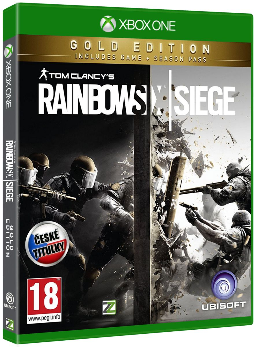 TOM CLANCY'S RAINBOW SIX: SIEGE (GOLD EDITION) - Xone