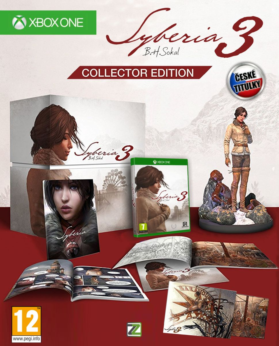 SYBERIA 3 Collector's Edition - Xone
