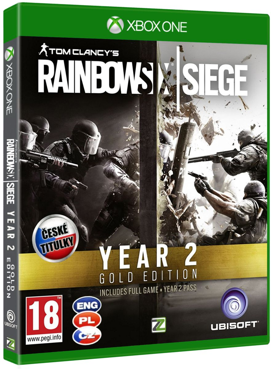 TOM CLANCY'S RAINBOW SIX: SIEGE GOLD SEASON 2 - Xone