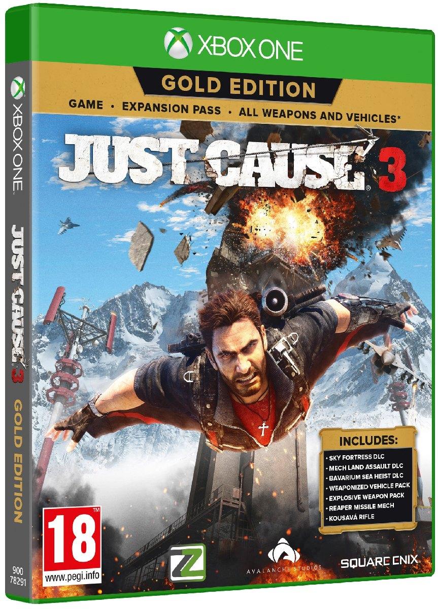 JUST CAUSE 3 (Gold Edition) - Xone