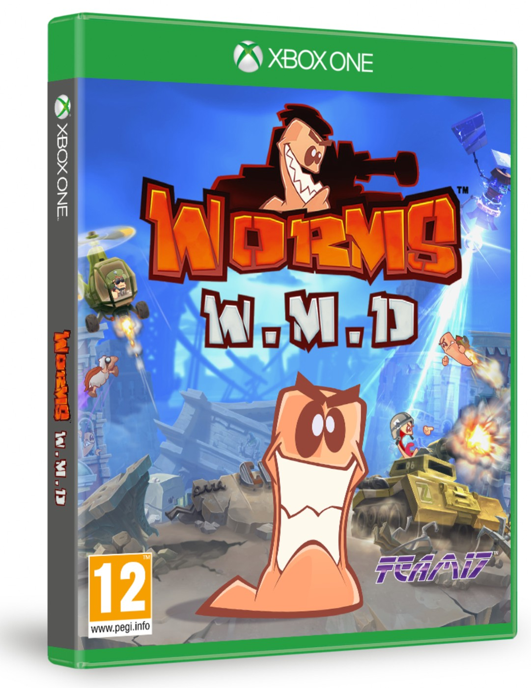WORMS W.M.D. All Stars - Xone