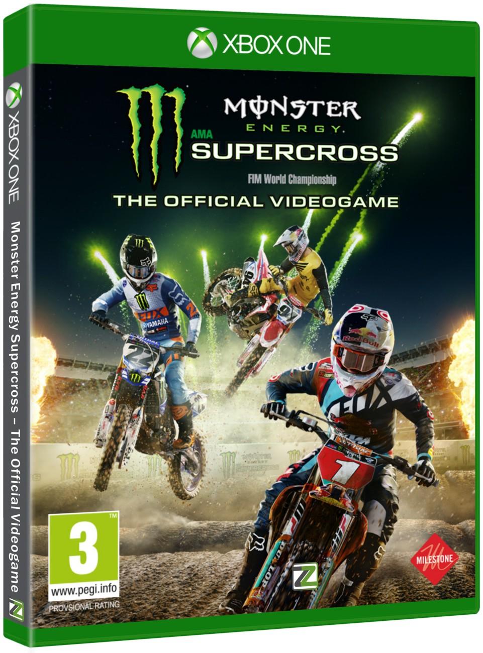 Monster Energy Supercross – The Official Videogame - Xone