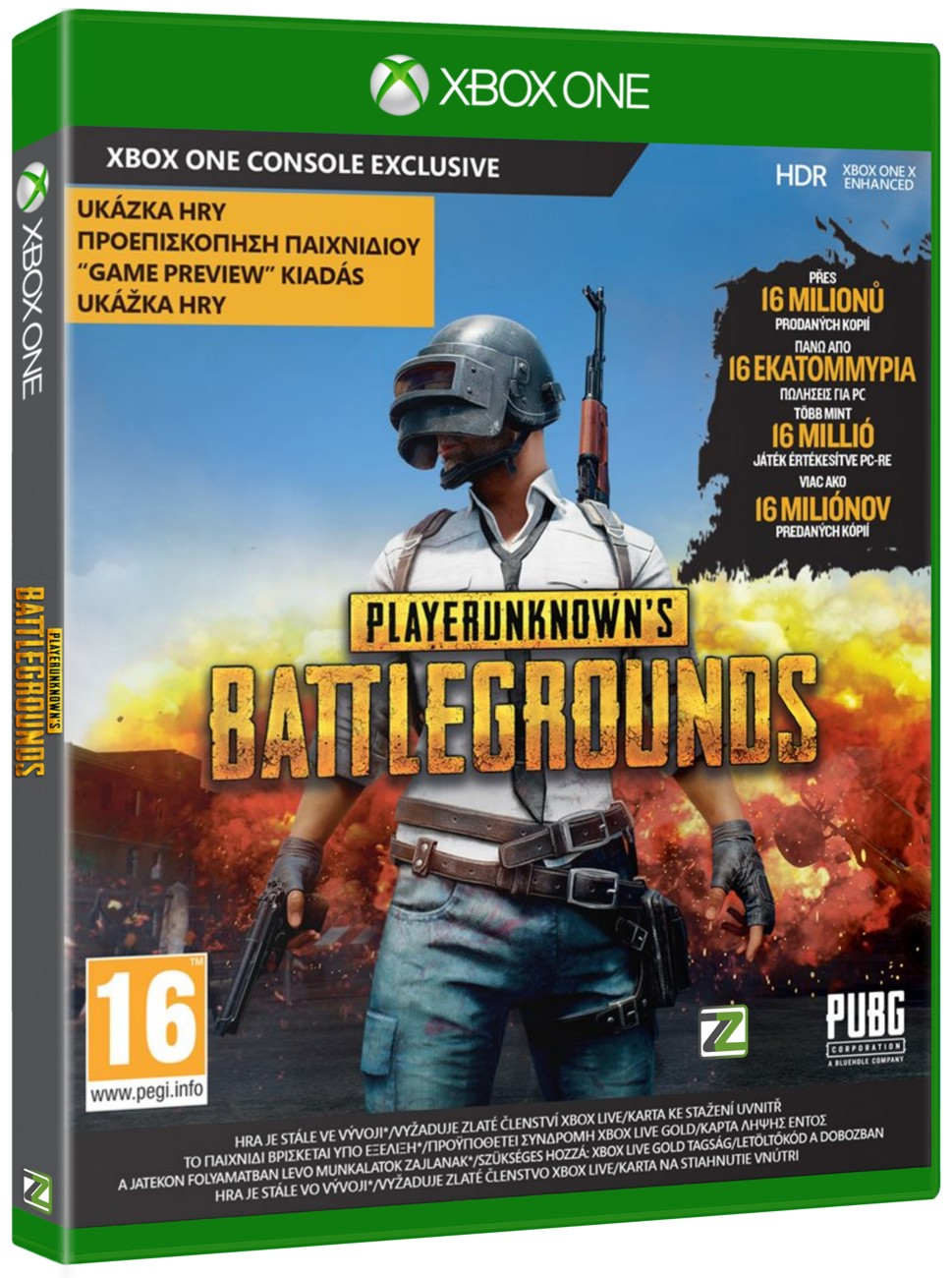PlayerUnknown's Battlegrounds 1.0 (PUBG 1.0) - Xone