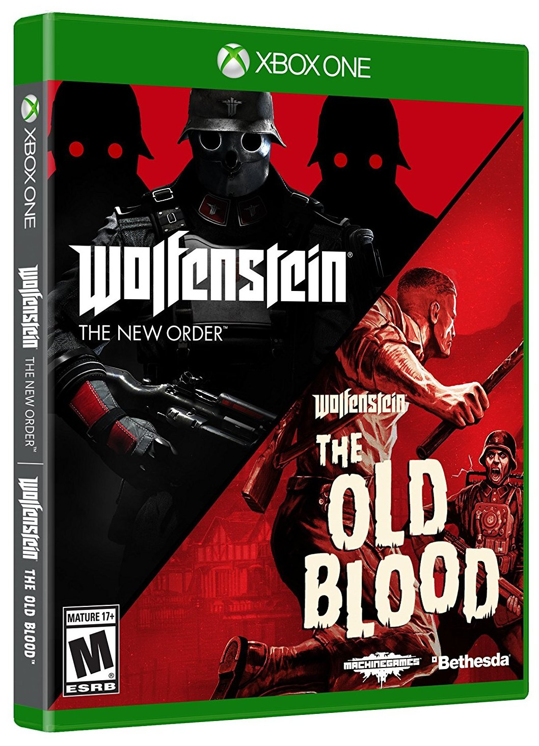 Wolfenstein The New Order and The Old Blood Double Pack - Xone