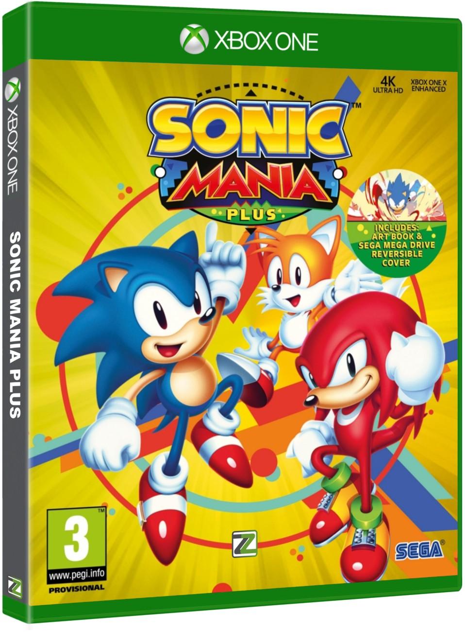 Sonic Mania Plus - Xone