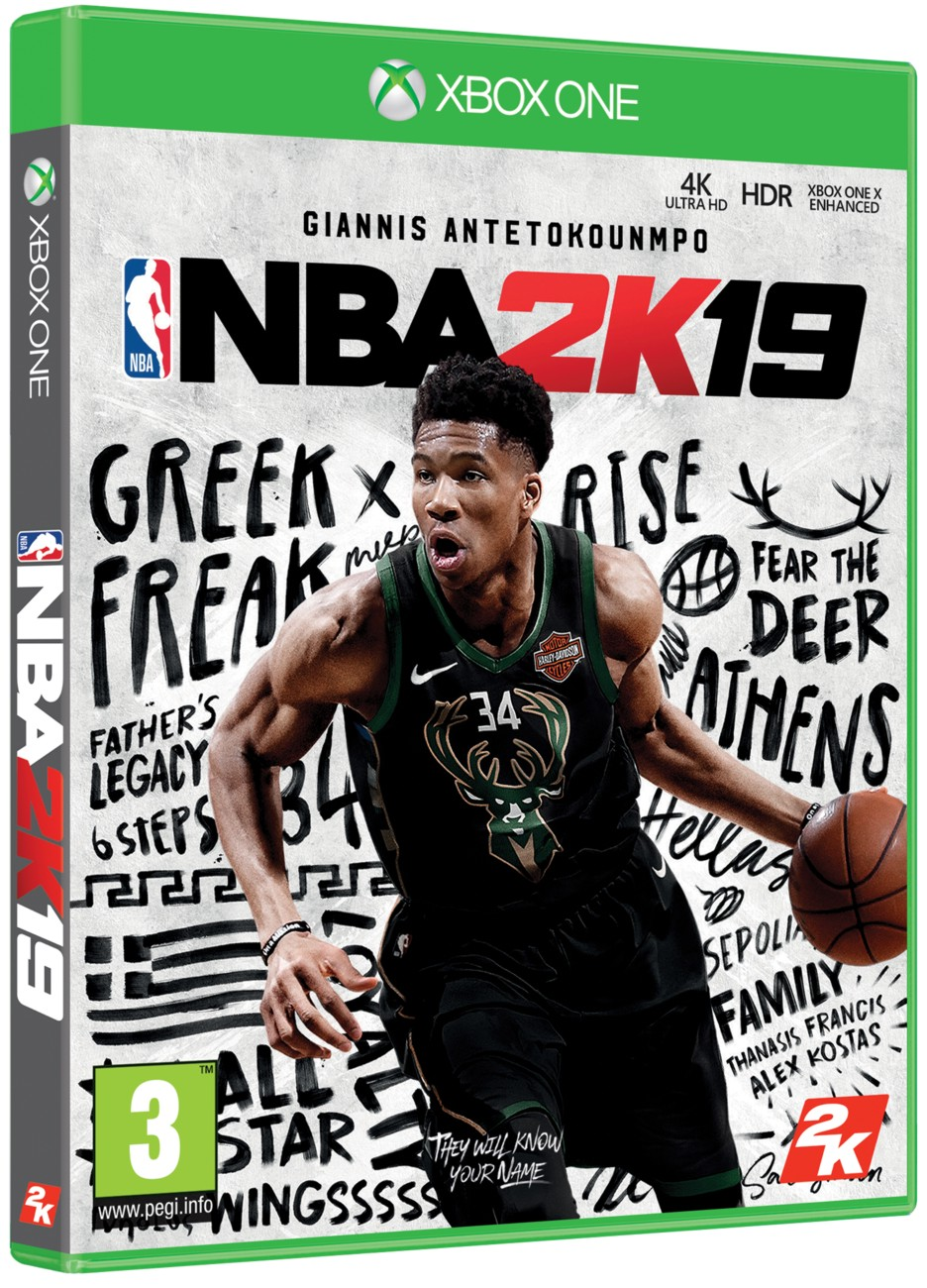 NBA 2K19 (Steelbook Edition) - Xbox One
