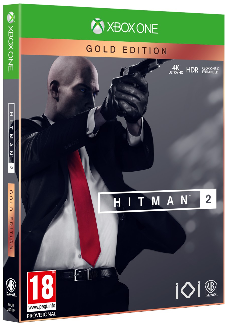 Hitman 2 Gold Edition - Xone