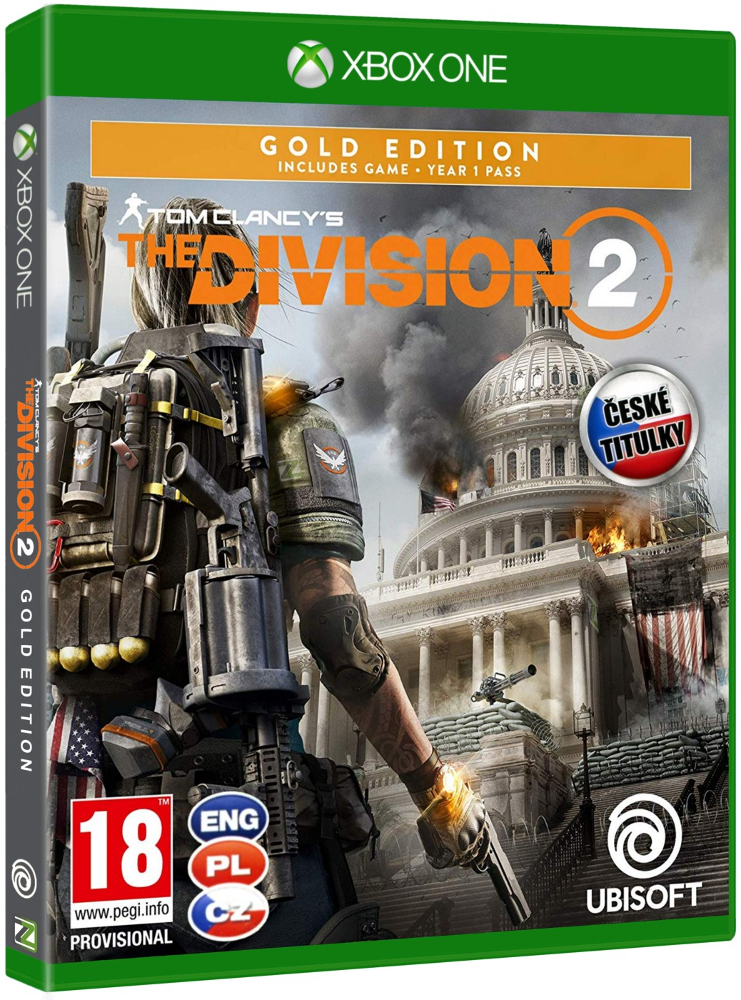 Tom Clancy's The Division 2 (Gold Edition) CZ - Xbox One