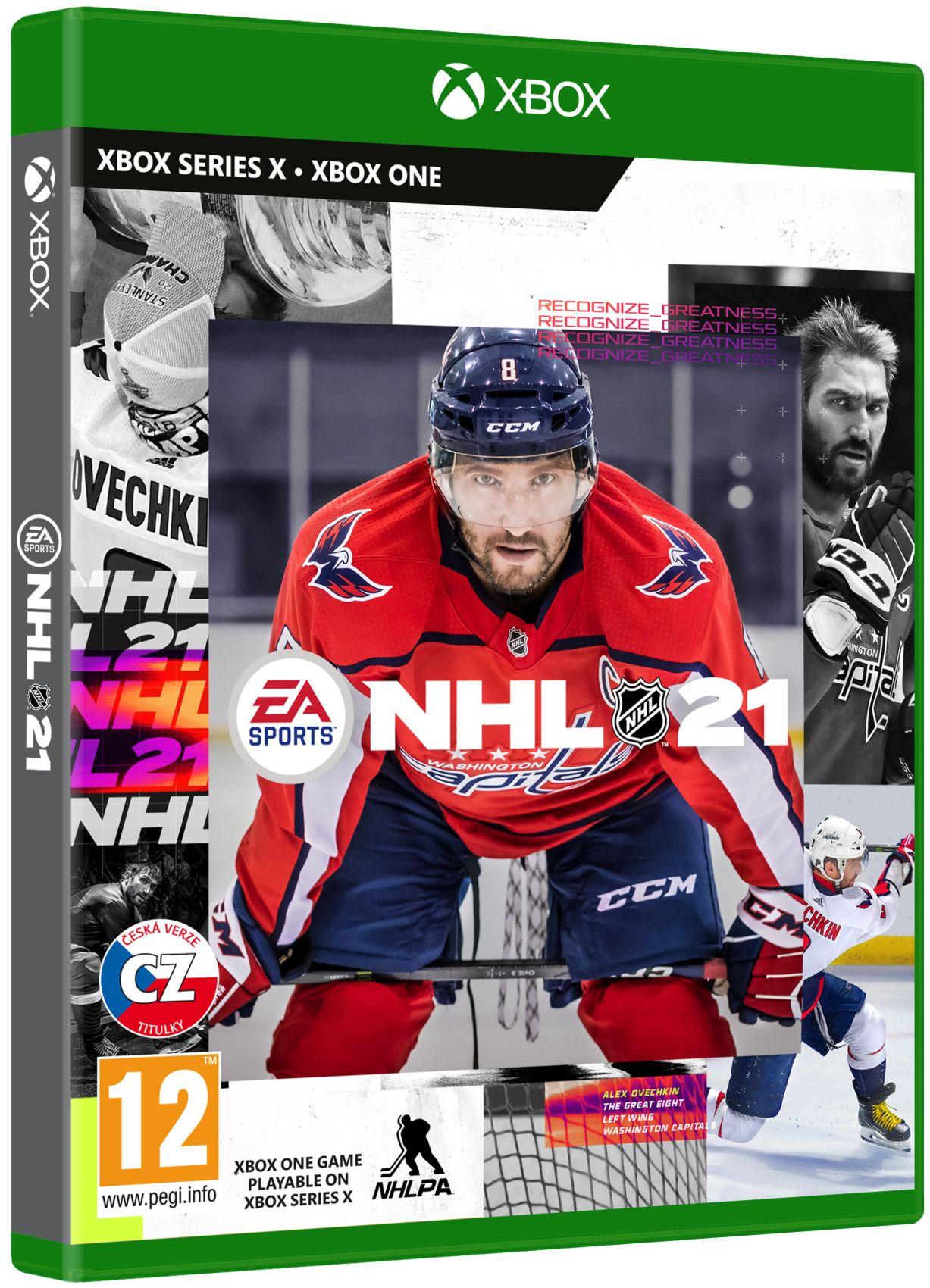 NHL 21 CZ - Xbox One