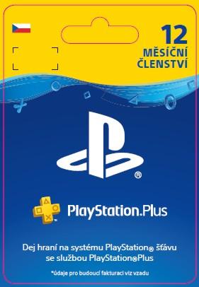 ESD CZ SONY PlayStation Plus - Členství na 12 měsíců
