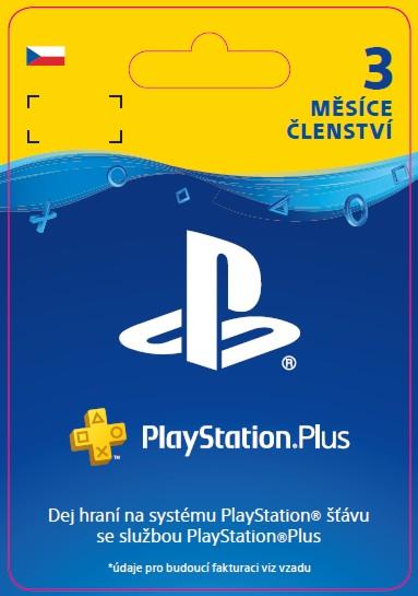 ESD CZ SONY PlayStation Plus - Členství na 3 měsíce