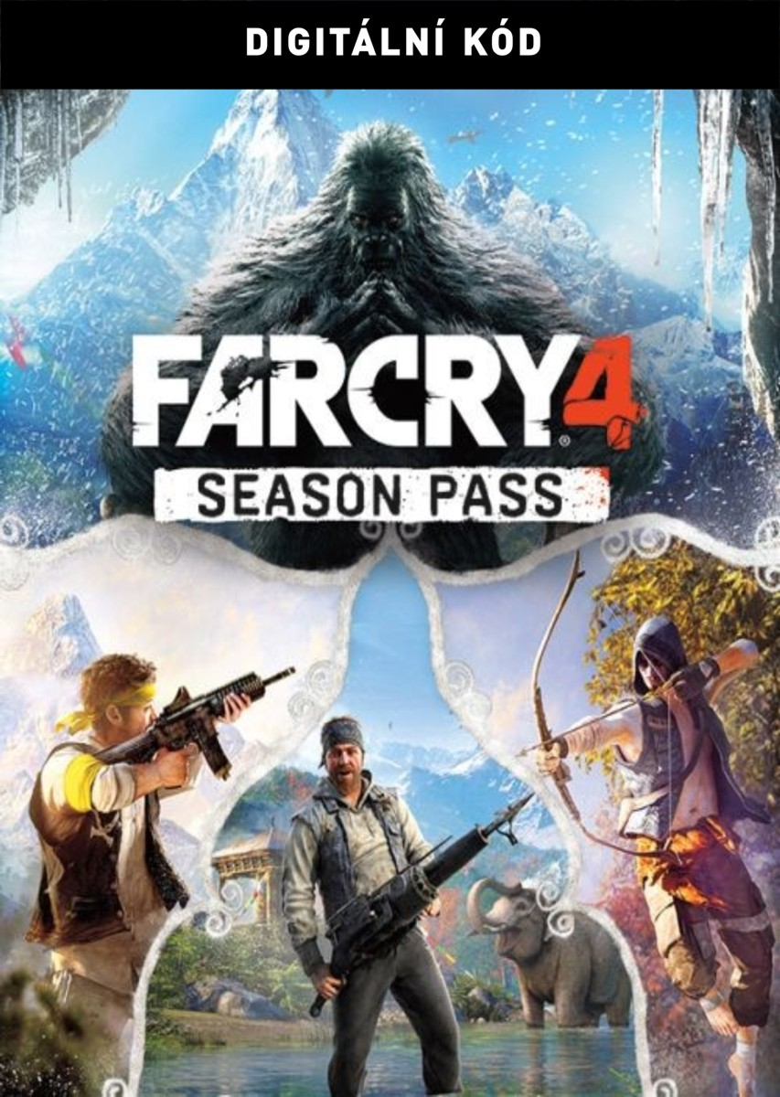 ESD Far Cry 4 Season Pass - PC Digital