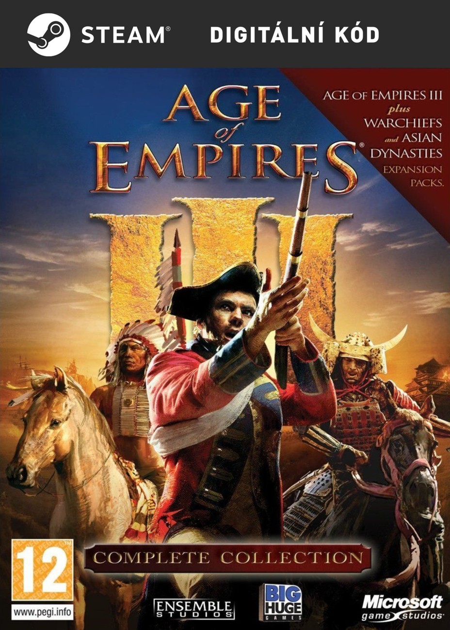 ESD Age of Empires III Complete Collection - PC Digital