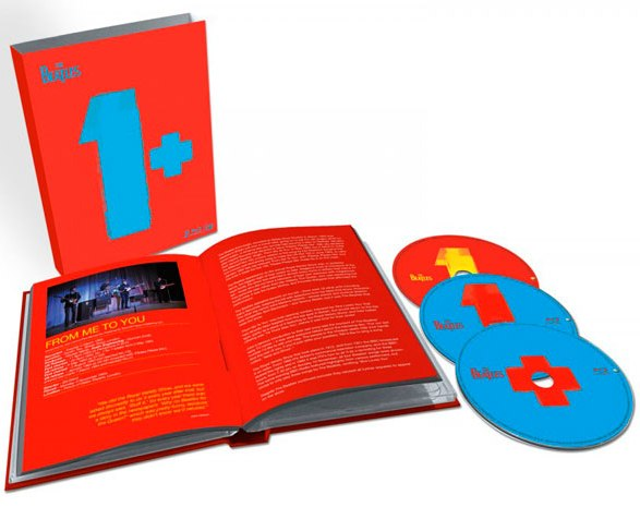 detail BEATLES - 1 (3 disky) - CD + 2 Blu-ray