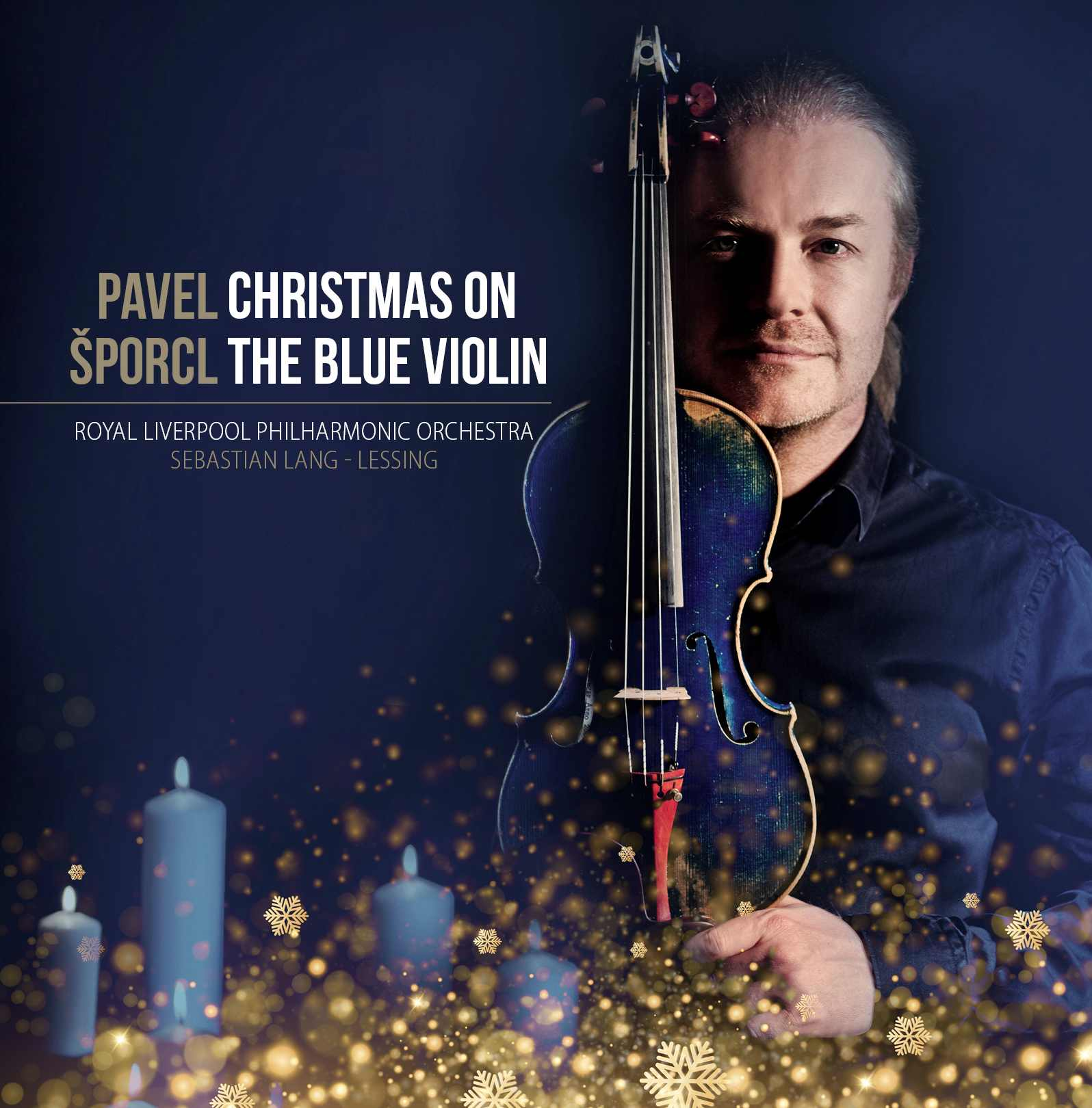 Šporcl Pavel: Christmas on the Blue Violin - CD