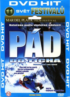 Pád do ticha - DVD pošetka