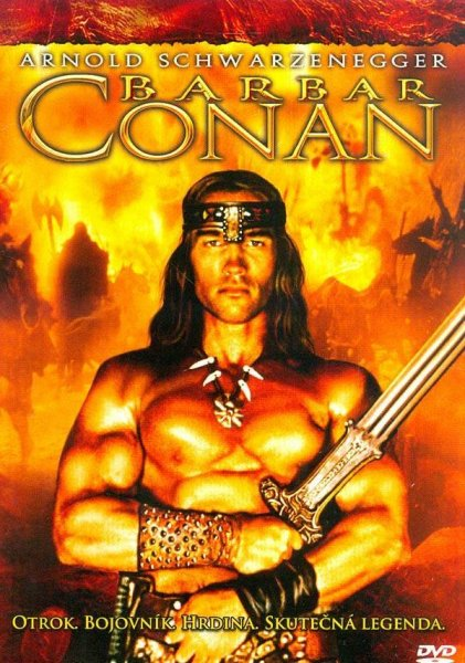 detail Barbar Conan - DVD