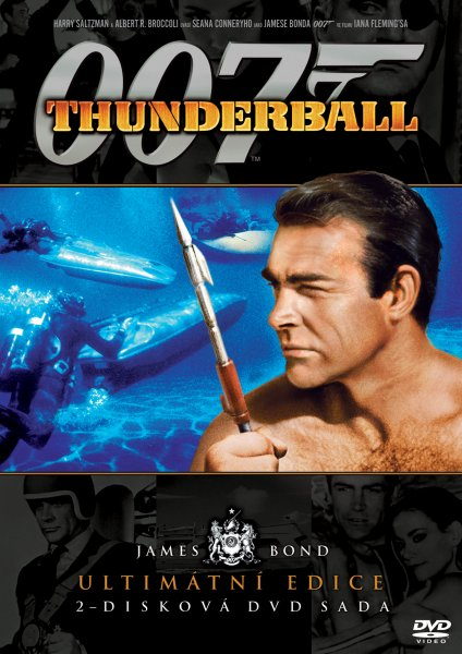 detail BOND - THUNDERBALL - DVD