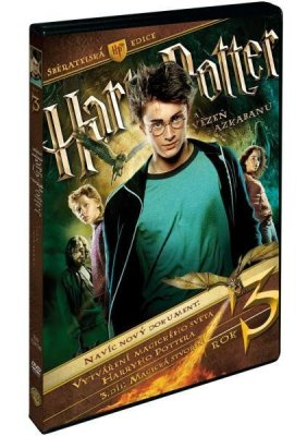 HARRY POTTER 3 A VĚZEŇ Z AZKABANU - 3 DVD