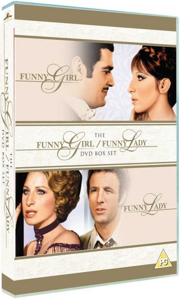detail Funny Girl and Funny Lady - 2 DVD