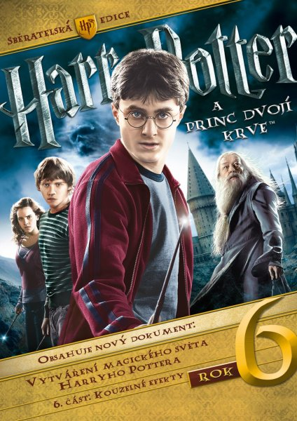 detail HARRY POTTER 6 A PRINC DVOJÍ KRVE - 3 DVD